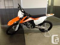 New 250SXF . Small-bore Domination The 250 SX-F is once