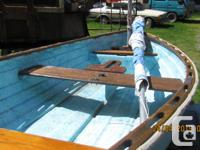 LOA 9' sailing prm tender. Comes with rudder,