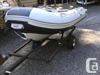 This OCEANAIR Dinghy was purchased at Harbor Chandler