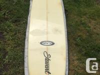 "Great condition 9'6"" Stewart Long Board. No major dings"