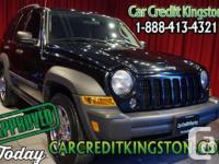 2007 Jeep Liberty four Door Sport -Rugged Durability