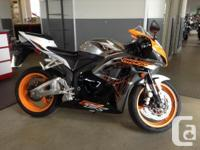 9000kmS . The Honda CBR600RR is a supersport motorcycle