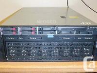 HP Proliant DL580 G7 4U Rackmount Server 4x Ten Core