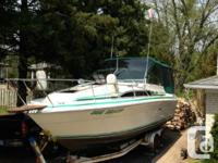 FOR SALE1983 270 SEARAY SUNDANCERThis 270 Sundancer is