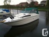 ~~Dealer Owned Inventory New Transom!!!1987 Searay 268