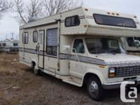 I have a 1988 Travelaire 295 Class C motorhome up for
