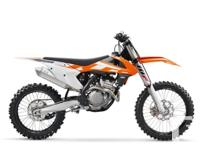 Brand New! Small-bore Domination The 250 SX-F is once