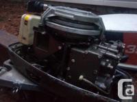 Motor ran good last year was on a 12 ft aluminum