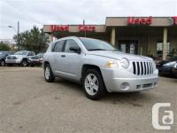 2007 Jeep Compass Sport four wheel-drive with