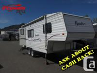 very clean rear kitchen fifth wheel. Half ton towable!!