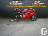 SUPER CLEAN BIKE ***PRICE IS PLUS HST & LICENCE*** THE