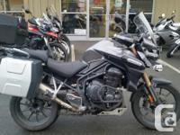 2012 Triumph Explorer with all the extras. Haeted