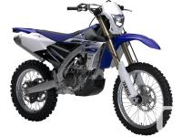 THE BEST OF BOTH WORLDSThe all new WR450F utilizes many