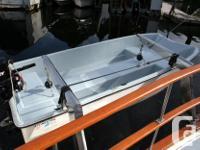 9 Foot Livingston fiberglass tender/rowboat with oars.