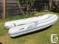 2013 9 ft inflatable aluminum floor dinghy with 2013