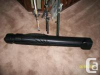 This a 9 ft Berkley spin casting rod with (new) Quantum
