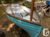 This is a perfect entry level sailboat, for the