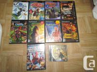 I am offering the follow Playstation 2 video games.