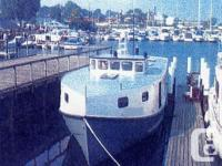 58� x 18� x 5� Steel Commercial Fishing VesselBuilt in