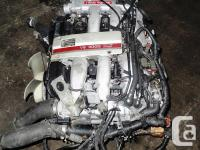 1990-1995 NISSAN 300ZX VG30 TWIN TURBO ENGINE INCLUDED: