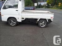 Make Subaru Model Sambar Year 1990 Colour white kms