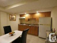 EXCELLENT AND VERY CLEAN TWO BEDROOM BASEMENT APARTMENT