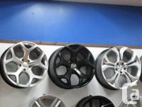 BMW X5 & & X6 Wintertime Tires & & Wheels Package.