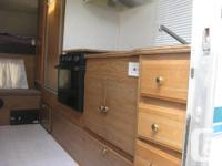 New rubber roof, large fridge, stove with oven, full