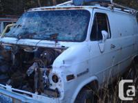 Dismantling 91 GMC 2500 Van. Impco propane system, 2wd