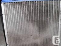 94 honda civic radiator OEM will fit on 92-95 civic,