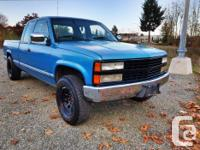 Make Chevrolet Model C1500 Year 1992 Colour Blue kms