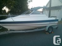 93 bayliner for sale bought july last year for 6900. we