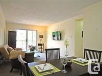 Sunny, Modern 2 Bedroom 930.00 #303-4 Applewood West