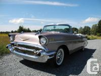 1957 Chevrolet BelAir Convertible With late 50s Chevys