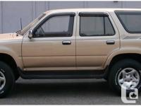 1994 Toyota 4runner, 3.0L SR5 V6, manual, 4WD, 283