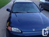 Make Honda Colour Blue Trans Manual kms 200000 95 civic