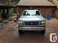 Make Ford Model F-350 Year 1995 Colour blue kms 236000