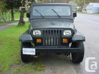 I have 2 95 jeep yj's for sale either or both. both