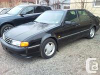 ONE OWNER, maintained SAAB 9000. Engine has been