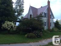 Large country home for rental fee starting November