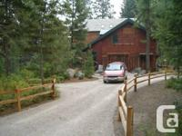 Gorgeous property and custom built house in Bigfork,