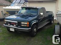 Make GMC Model Sierra 3500 Year 1996 Colour Green