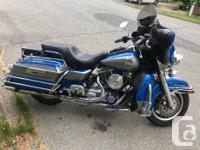 Make Harley Davidson Model Electra Glide Year 1996 kms