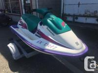 1996 Seadoo SP comes with EZ Loader trailer. 55 HP. In
