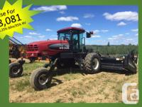 M150 2010 Mac Don M150, Windrowers, with 25' D60-DK