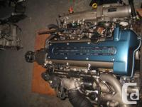 JDM TOYOTA ARISTO 2JZ-GTE 3.0L 6-CYLINDER, DOHC,