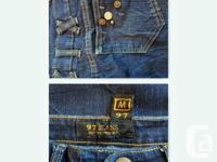 97 Jeans - size: women's medium, but fits more like a