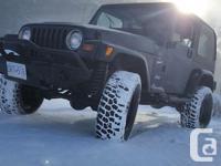 Make Jeep Year 1997 Colour dark blue Trans Manual kms