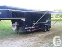 2 Horse slant gooseneck with living quarter Trailer
