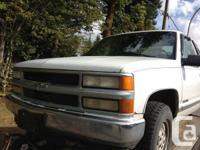 98 Chev Z71 4X4   runs n drives all good - Alberta